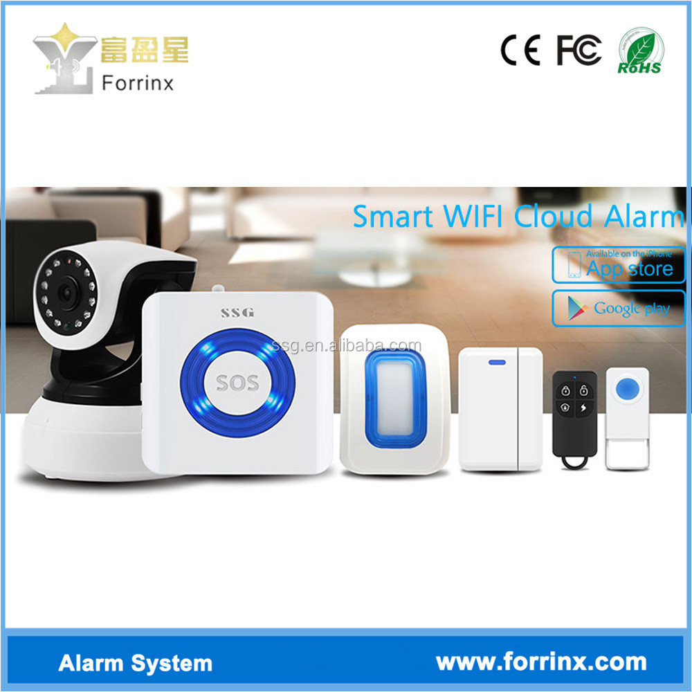 SSG-T0 Latest Video Wifi Enabled Security System with Motion Sensor