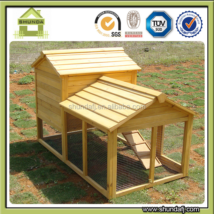 SDR02 outdoor wooden rabbit house guinea pig pet house