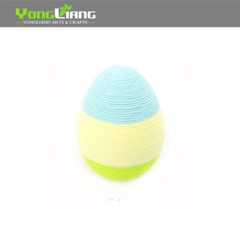 Easter Festival Decoration Paper Ball Paper Yarn Making Up the Ball