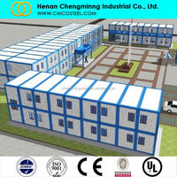 China prefab residential container house factory