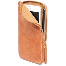 Boshiho leather cell phone case ladies smart phone wallets for mobilephone phone bag