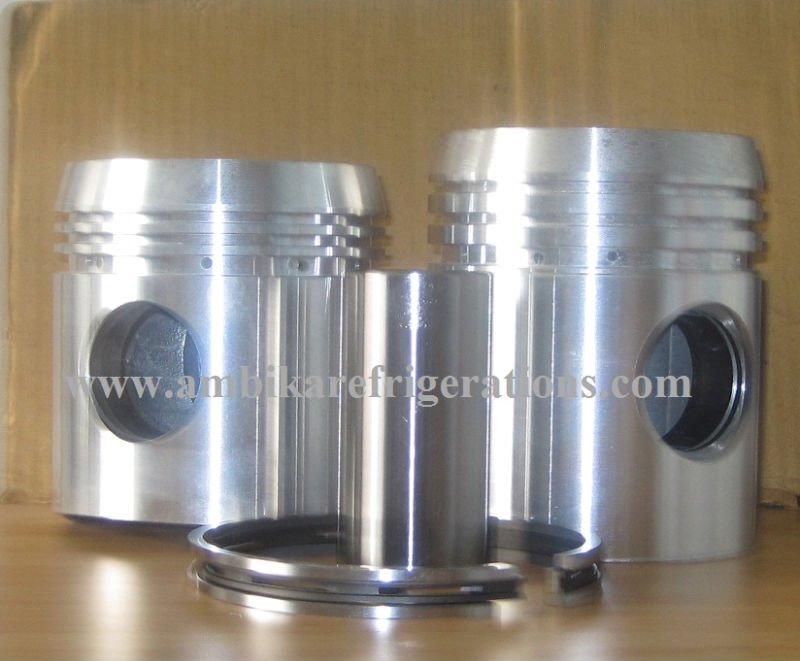 Piston with Pin & Rings