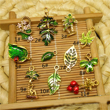 dye necklace hanger botany plant series expory lighting fashion pendants and charms