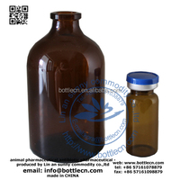 medical 250ml soda-lime USP Type III molded brown vial