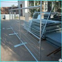 easy install and durable galvanized temporary metal fence panels