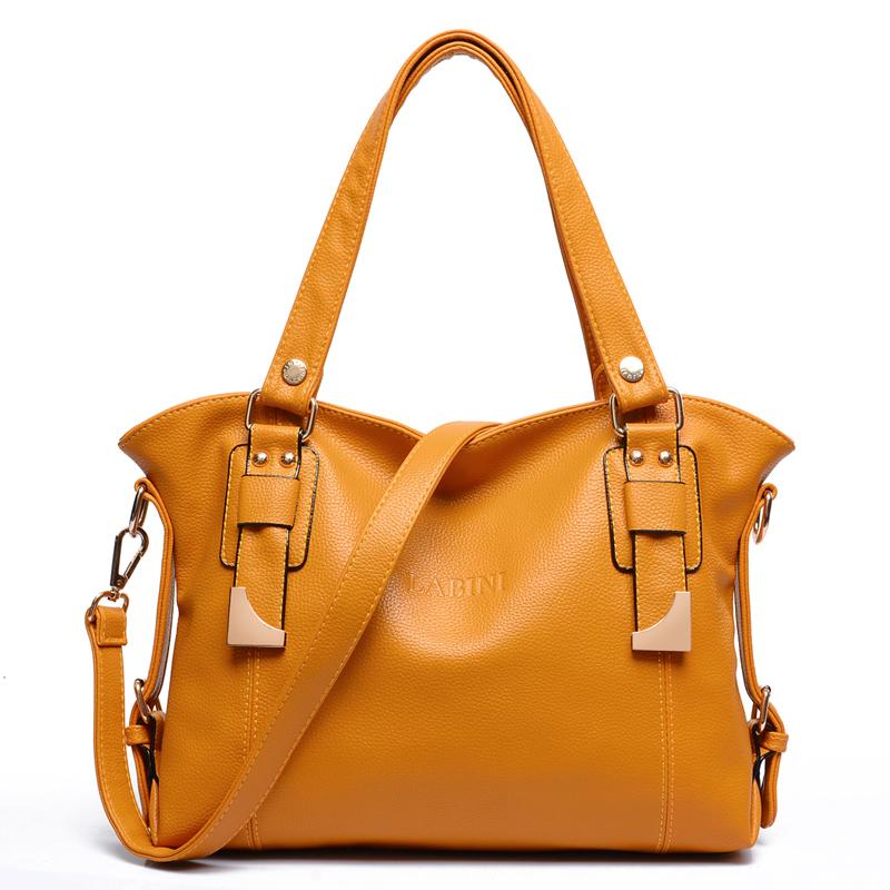 b985e8b584 Buy Famous Brands For Women Genuine Leather Shoulder Bag Ladies Handbags  High Quality Messenger Casual Tote Bag Bolsa Feminina 2015 in Cheap Price  on ...