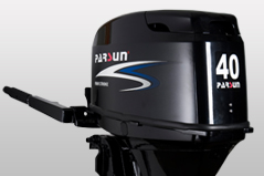 New 4 stroke 20hp outboard