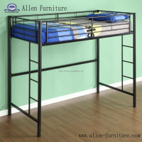 black adult double metal bunk bed Hot selling cheap metal bunk beds