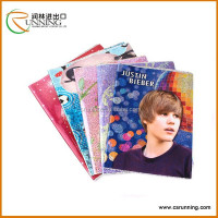 A4 binding book cover for office/pvc book cover with pocket