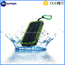 Waterproof solar mobile phone charger super fast 12000mAh portable solar charger