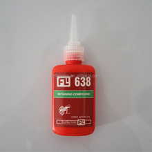 FL 638/609 Anaerobic screw locking ,liquid instant glue , automotive adhesive , cylinderical bonding sealant china supplier