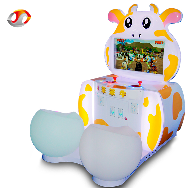 Top Quality Hottest Stupid Cow Arcade TV Video Arcade Games Machines For Kids