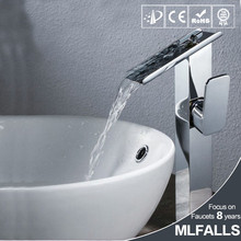 High Grade Low Price Chrome Bathroom Tap Sanitary Ware China Health Faucet MLFALLS