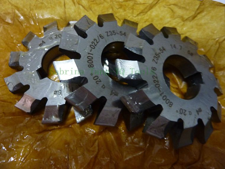 HSS Module Gear Milling Cutter within TIN or TIALN