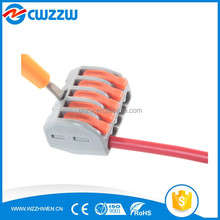 CWZ-415-A hot selling electricity quick connect Wire Connecting terminal 415 series with five hole push wire type