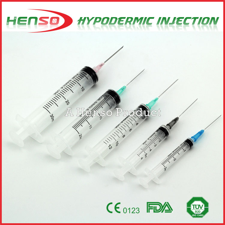 Henso Disposable 1ml 2ml 3ml 5ml 10ml 20ml Syringes