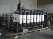 Ultrafiltration system water treatment equipment for mineral water production line