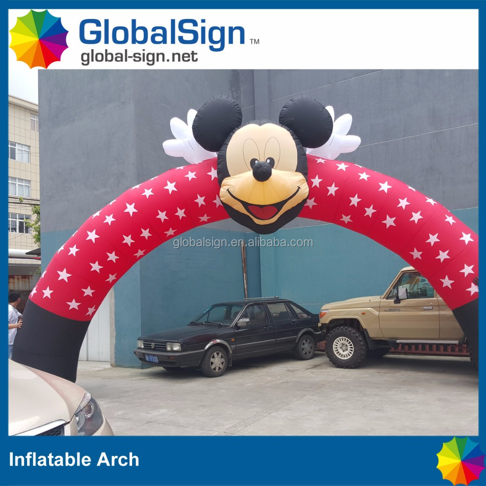 Promotional Branded Inflatable Arch Manufacturer