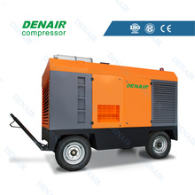 8 bar diesel movable screw air compressor 20 m3 / min on sale