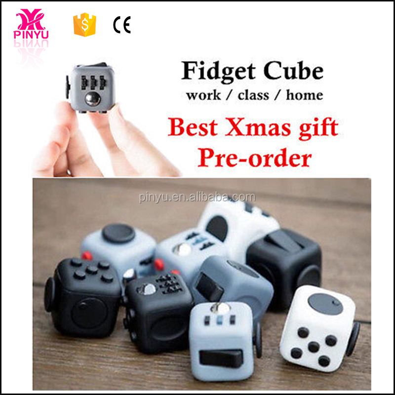 Magical anti stress anxiety children adults puzzle toy fidget cube playing