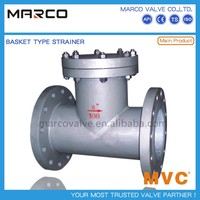 Reliable performance stainless steel 40 mesh y or bucket strainer