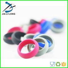 Custom silicone finger rings/ Adjustable silicone rings
