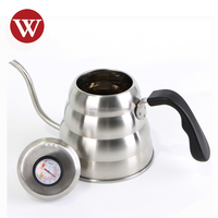 Stovetop 1.2 Liter Gooseneck Spout Stainless Steel Coffee Kettle