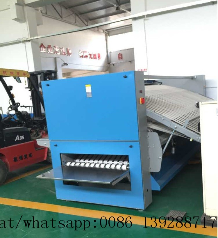 automatic laundry,hotel using bedsheet folding machine