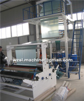 blown film machine/polyethylene plastic film blowing machine price/plastic bag production line