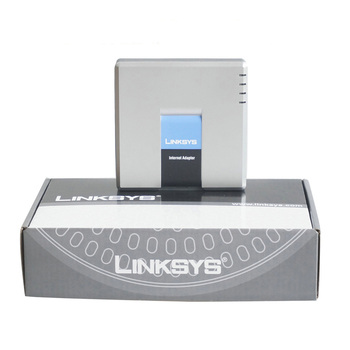Linksys PAP2T VoIP ATA phone adapter With best price Unlocked
