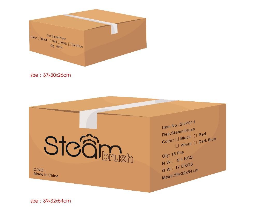 New Fashion Lcd Display 230c Heat Ceramic Electric Steamer