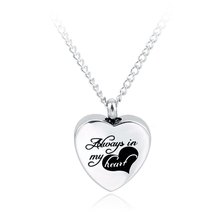 Personalized Name Necklace With Always In My Heart Font