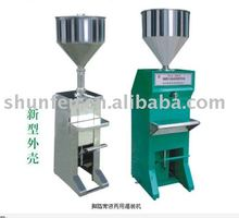 Economic Vertical Liquid & Ointment Pedal Filling Machine (manual filling machine for cream, liquid, paste, oil, sauce, soap)