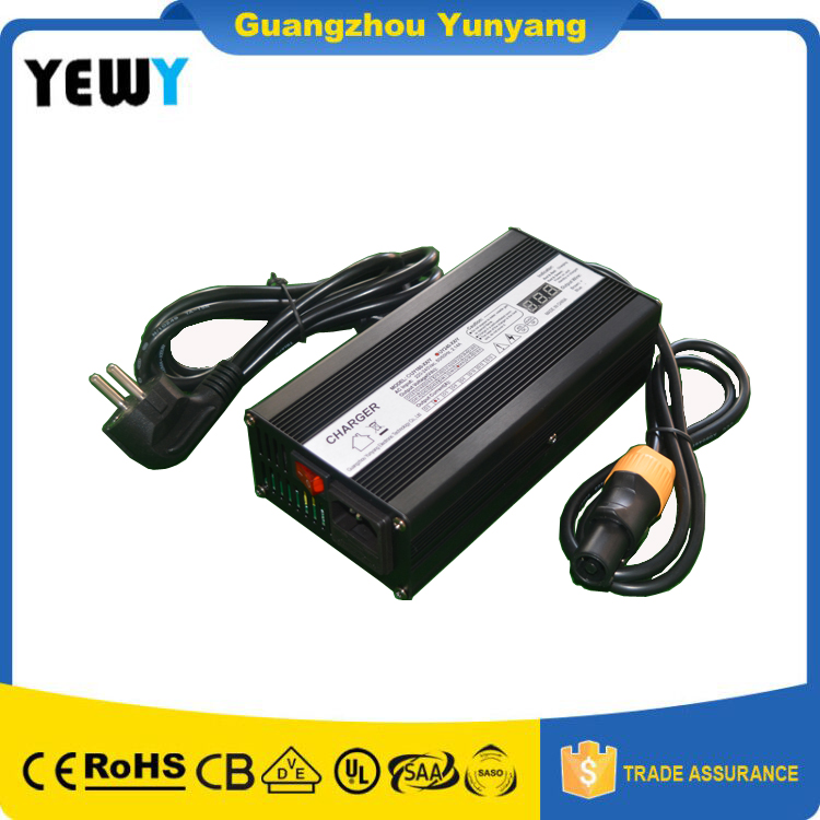 2 Years Warranty EV Charger Factory 48V5A scooter Vehicle Battery Charger 13s 54.6V 5amp li-ion charger with Aluminium case