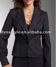 Fashion Hot Sell Black Women's Business Suit