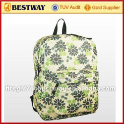 600D polyester school bag material