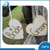 Heart Shape Bride & Groom Wooden Wall Hangings For Wedding Party