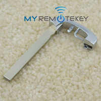 Hot sale new style emergency key blank for BM 5Series (Chrome) insert Smart key blade