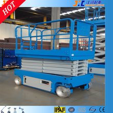 8 meters hydraulic lift equipment lifting cars construction machine for washing