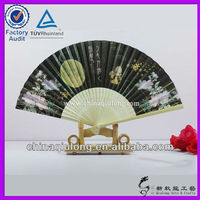 Japanese Paper Folding Hand Fan For Promotion