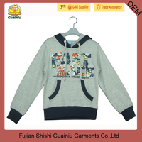 Fashion hoodies pullover for kids boys