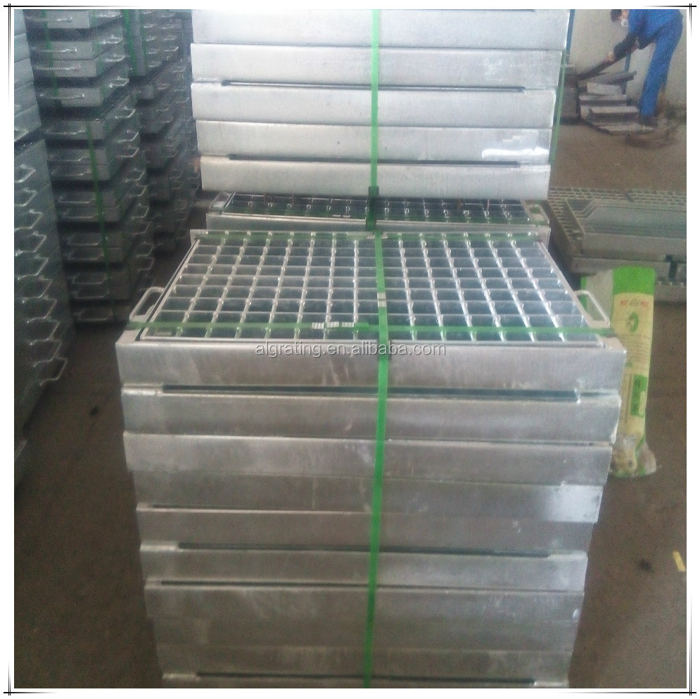 steel grating with frame