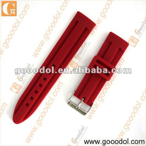 OEM silicone watch strap