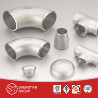 ASTM A234 WPB butt welding pipe fitting weight