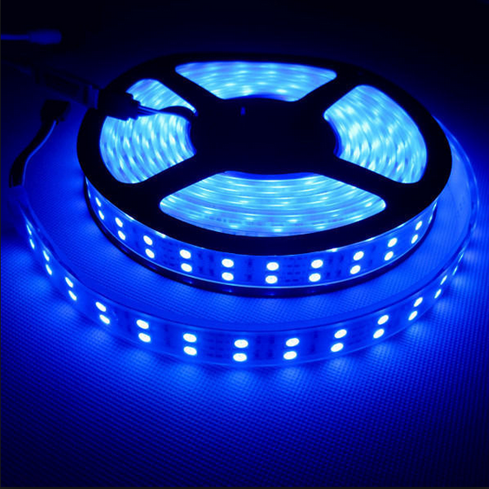 rohs 4 pin connector 12v 120leds led strip <strong>rgb</strong> 5050 3 led light
