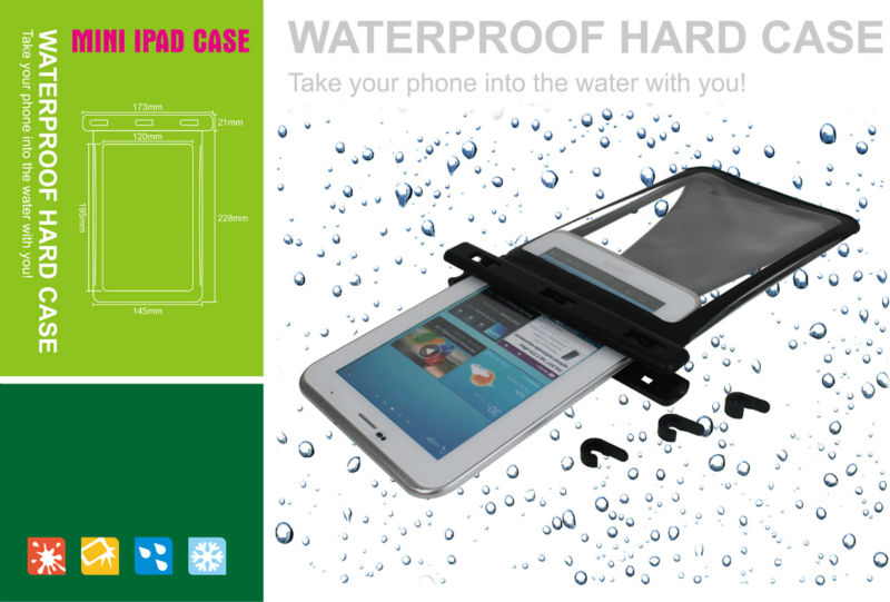 water proof case for tablet 7 inch with belt