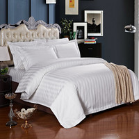 Cheap Price Cotton Bed Sheet Bedding Set For Hotel