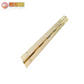 0.8mm thickness copper easy piano hinge for furniture