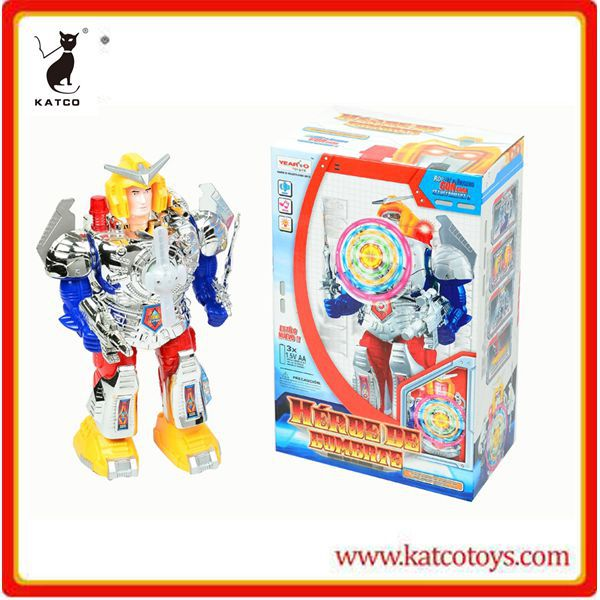 hot new customs toys rotation dancing robot kit