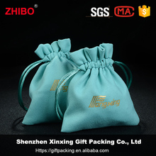 Wholesale custom small suede jewelry pouch